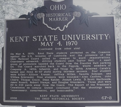 Kent State Marker (2)